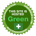 hosted green by greengeeks